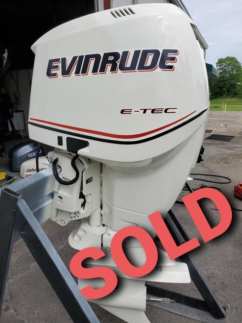 "2011 Evinrude ETEC 200 HO 6-Cylinder DFI 2-Stroke 25"" (X) Outboard Motor"
