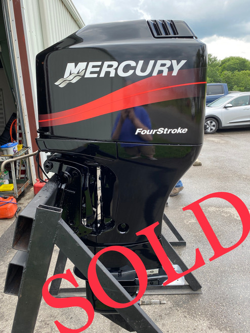 """2005 Mercury 90 HP 4-Cylinder Carb 4-Stroke 25"""" (X) Outboard Motor"""