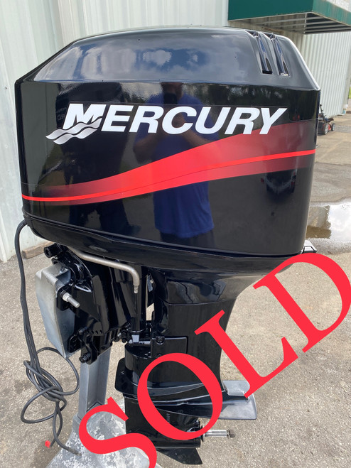 """2001 Mercury 50 HP 3-Cylinder Carbureted 2-Stroke 20"""" (L) Outboard Motor"""
