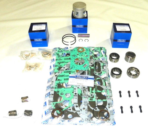 New Johnson/Evinrude 60/75 HP 3-CYL Powerhead [1976-1988] Rebuild Kit