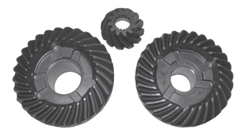 New Red Rhino Johnson/Evinrude 40-60 HP 2-CYL Complete Gear Set [1978-1988, Replaces OEM 433570]