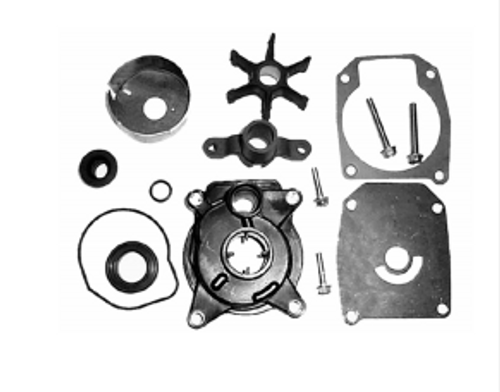 New Red Rhino Johnson/Evinrude 40-60 HP 2-CYL Complete Water Pump Kit [1978-1988, Replaces OEM 439077]
