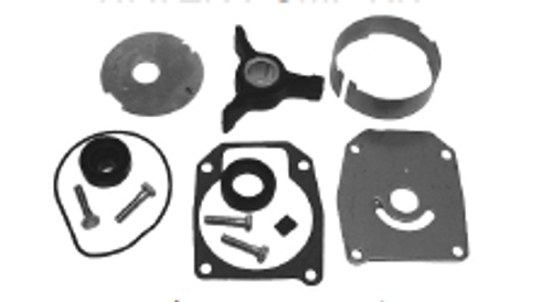 New Red Rhino Johnson/Evinrude 40-50 HP 2-CYL Water Pump Kit  [1989-2005, Replaces OEM 438592]