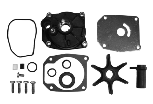 New Red Rhino Johnson/Evinrude 50-75 HP 3-CYL Water Pump Kit  [1979-2001, Replaces 432955]