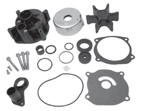 New Red Rhino Johnson/Evinrude 85-250 HP Water Pump Kit  [1979-2006, Replaces 5001594]