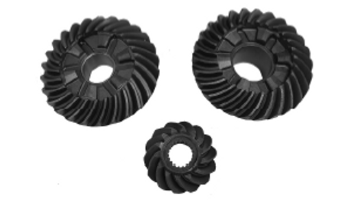 New Red Rhino Johnson/Evinrude V4 60º/90º Big Foot 90-140 HP Gear Set [1985-2006, Replaces OEM 435123, 336574]