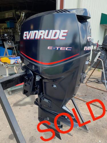 """2007 Evinrude 175 HP V6 DFI 2 Stroke 20"""" Outboard Motor"""