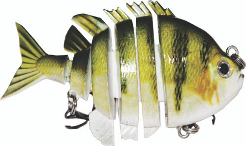 RAW10-32 3inch bluegill swimbait
