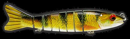 6 inch  Life Like swimbait  RAW05D Yellow Perch 2