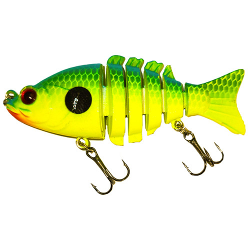 RAW 09  3 inch baby bass swimbait  - Chartreuse TN Shad