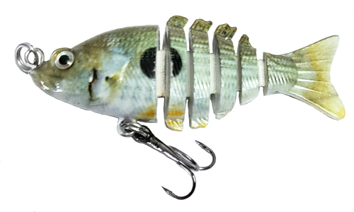 Mini 2 inch minnow swim bait - shad