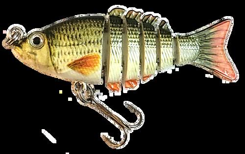 Mini 2 inch minnow swim bait - sucker minnow