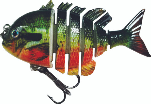 RAW10A-34   2.2 inch mini blue gill swimbait - red belly perch