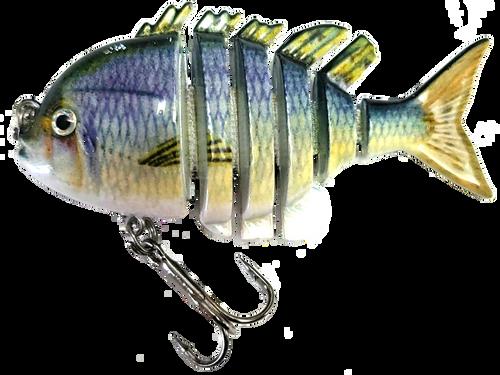 RAW10A-17 2.2 inch mini blue gill swimbait