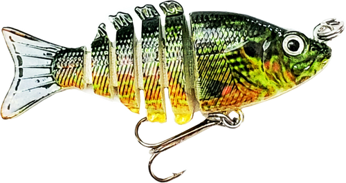Mini 2 inch minnow swim bait - bluegill 2