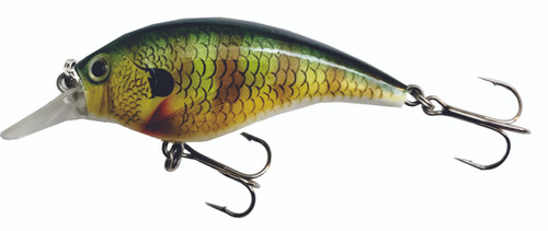 H07 2.5 inch Round Bill Crankbait - Real Bream