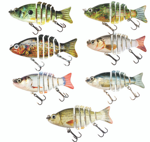 Pick any 3 RAW09 3 inch Swimbaits for only $20