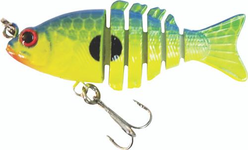 Mini 2 inch minnow swim bait - Chartruese Shad