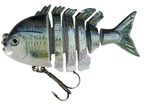 RAW10A-27  2.2 inch mini blue gill swimbait - Blue Back Herring