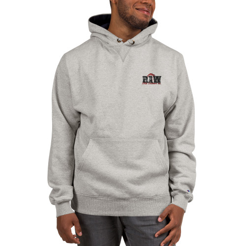 Raw Outdoors Embroidered Champion Hoody