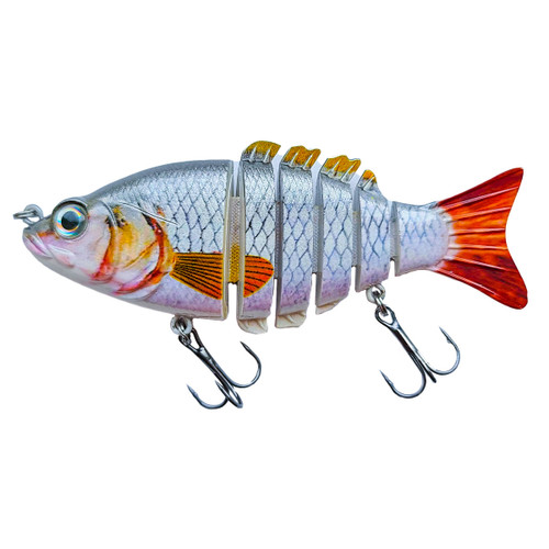 Silver Shiner Baby Bass 4 Inch Swimbait - RAW08