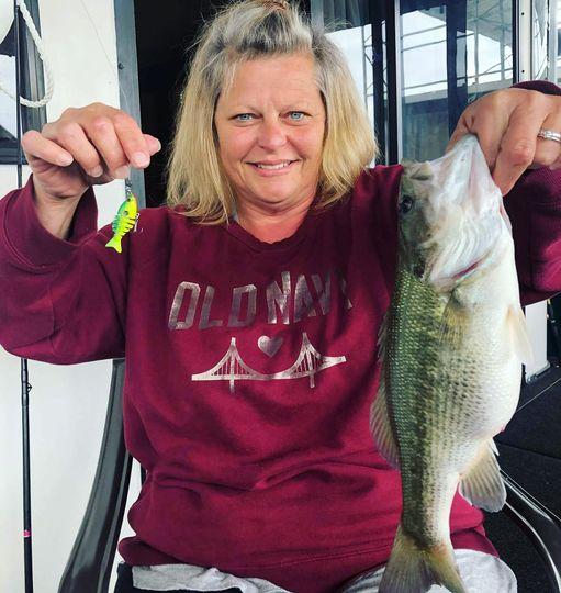 Big Bass Caught On Baby Bass Swimbait