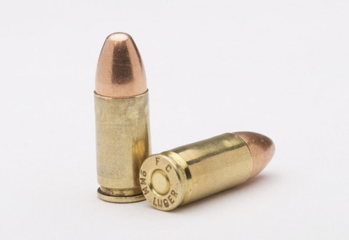 9MM 115gr FMJ - Remanufactured Ammunition