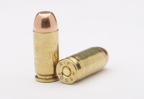 40 S&W 165gr FMJ -Remanufactured Ammunition