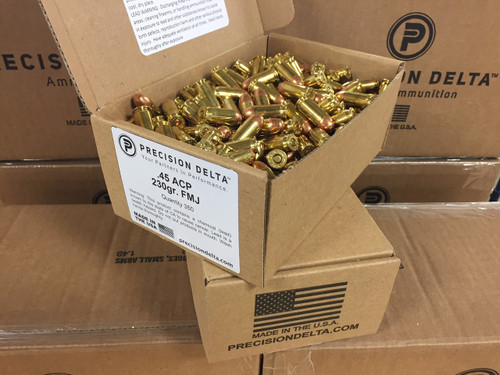NEW 45 ACP 230gr. FMJ Training Pack