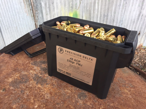 45 ACP 230gr. FMJ Remanufactured MATCH PACK