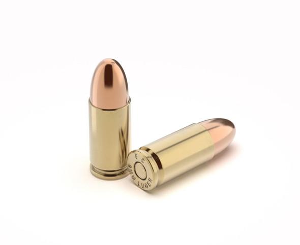 9mm 124gr. FMJ - Remanufactured Ammunition