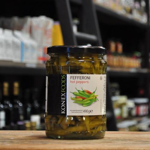 Fefferoni Hot Peppers