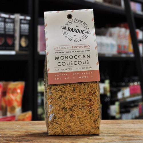 Moroccan Couscous Apricot + Pistachio