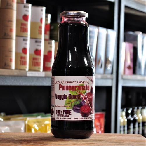 Pomegranate Veggie Boost Juice