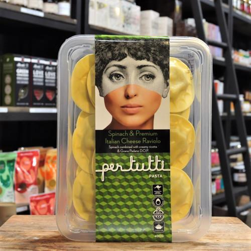 Spinach & Italian Cheese Raviolo