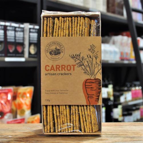 Artisan Carrot Crackers