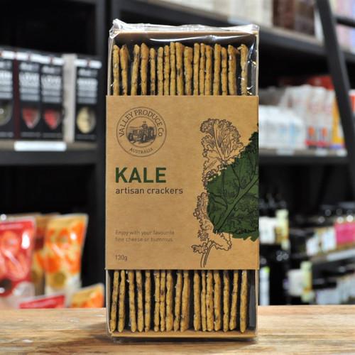 Artisan Kale Crackers