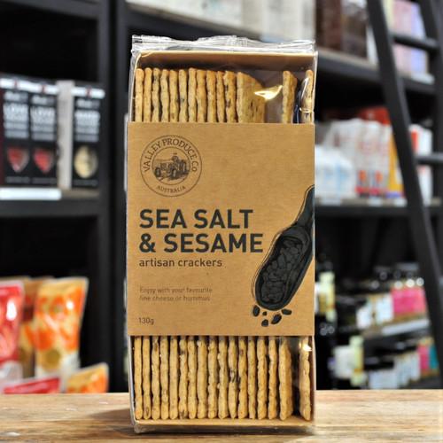 Artisan Sea Salt & Sesame Crackers