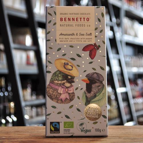 Amaranth & Sea Salt Chocolate