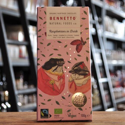 Raspberries in Dark Chocolate