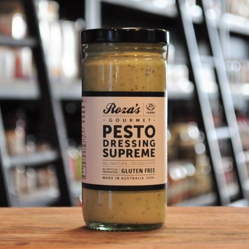Pesto Dressing Supreme