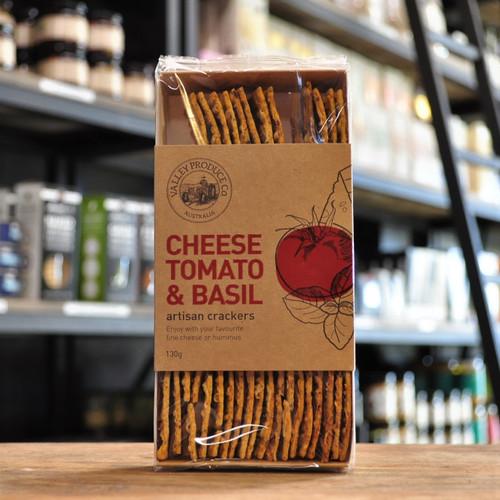 Artisan Cheese Tomato & Basil Crackers