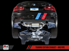 AWE Tuning BMW F3x 340i and 440i Touring Edition Axle-Back Exhaust