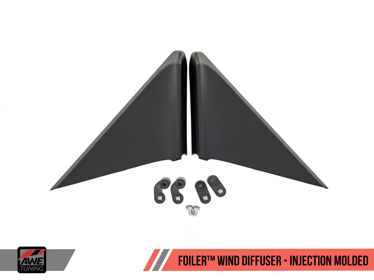AWE Tuning - Foiler Wind Diffuser - 718 Boxster