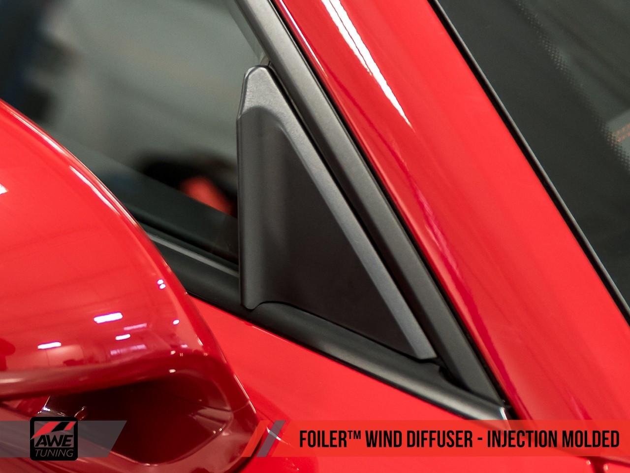 AWE Tuning - Foiler Wind Diffuser - 911 991