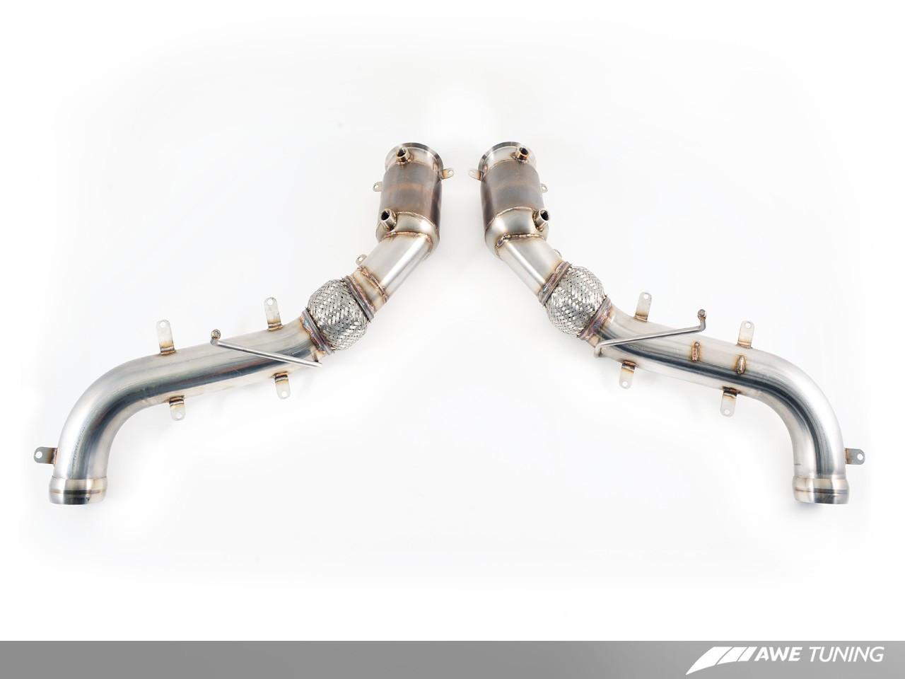 AWE Tuning Performance Catalysts - McLaren 570GT