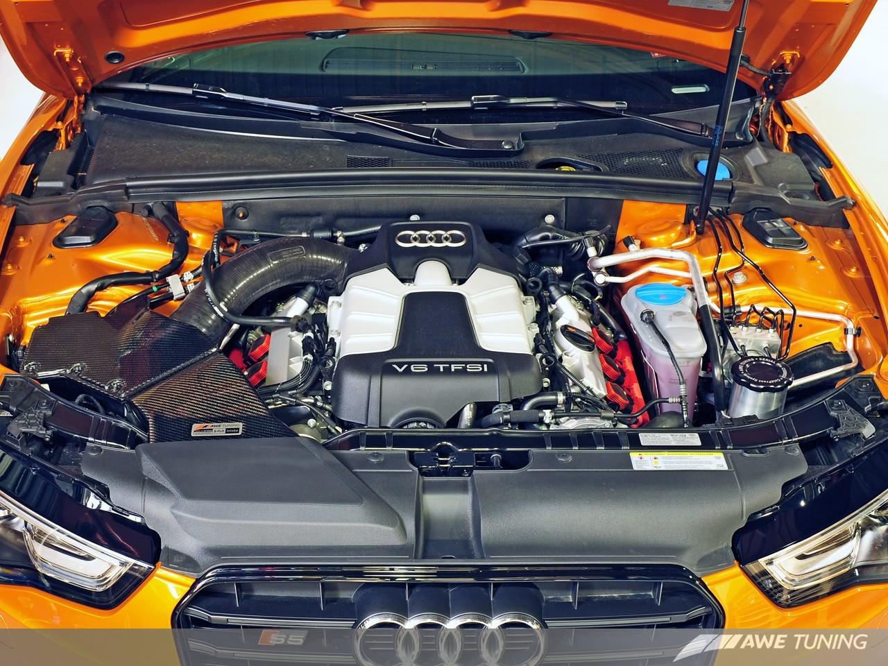 AWE Tuning S-Flo Carbon Intake Kit - B8.5 3.0TFSI