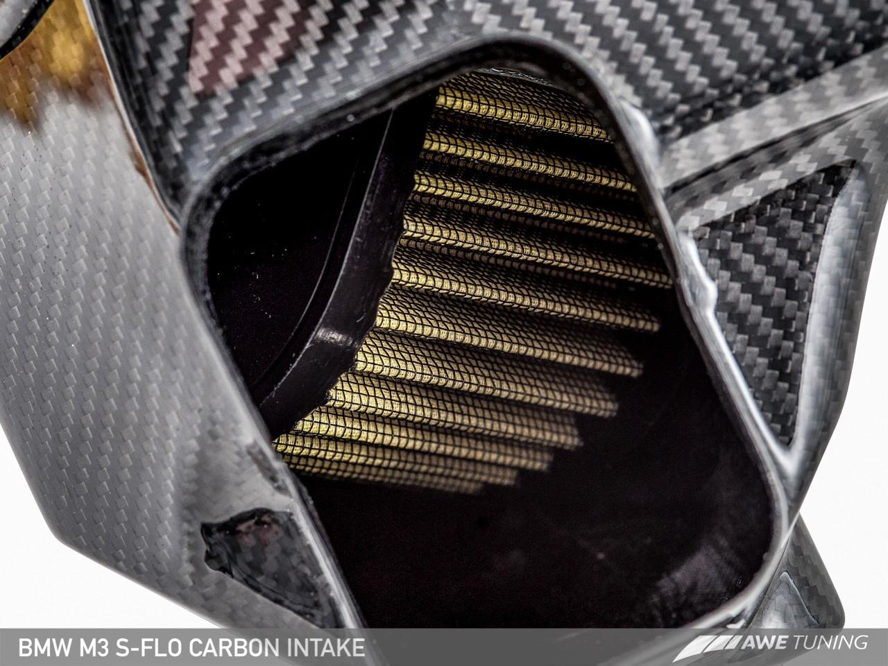 AWE Tuning S-FLO Carbon Fibre Intake kit - BMW F80 M3