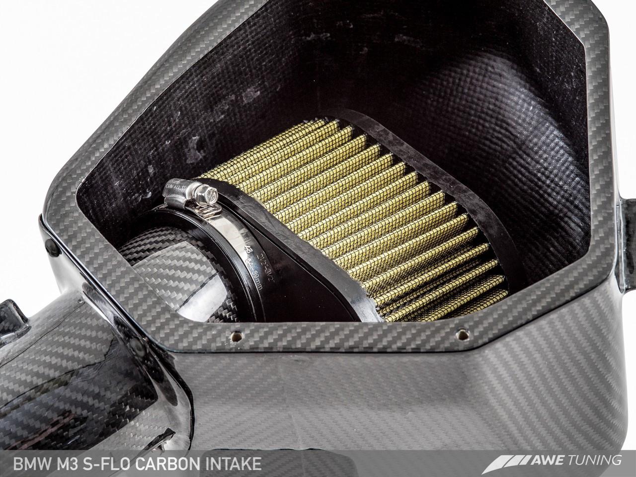 AWE Tuning S-FLO Carbon Fibre Intake kit - BMW F82 M4