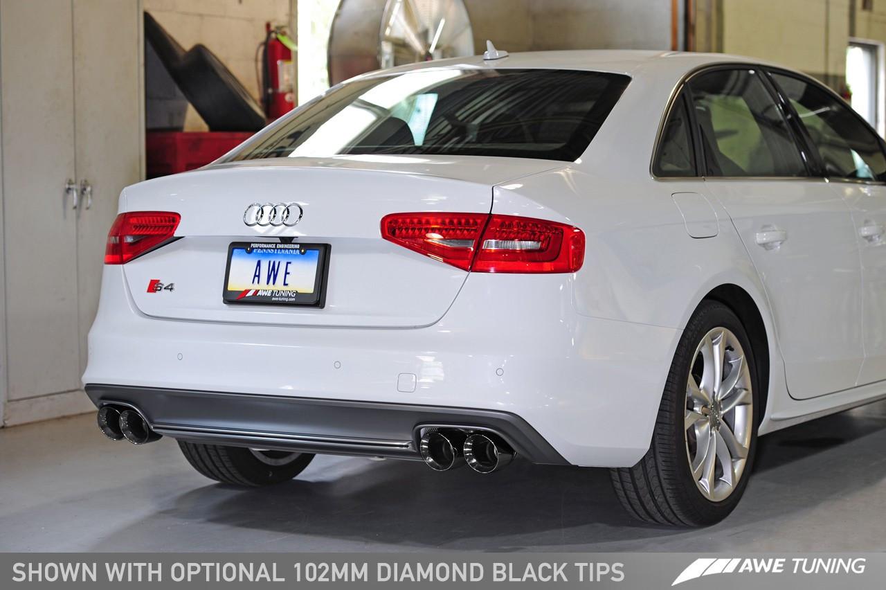 Awe Tuning Audi S4 B8 5 3 0tfsi Track Edition Exhaust Awe Tuning Europe